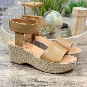 Frye & Co Amber Espadrille Wedge Sandals